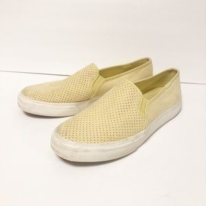Keds | Double Decker Yellow Slip On Shoes